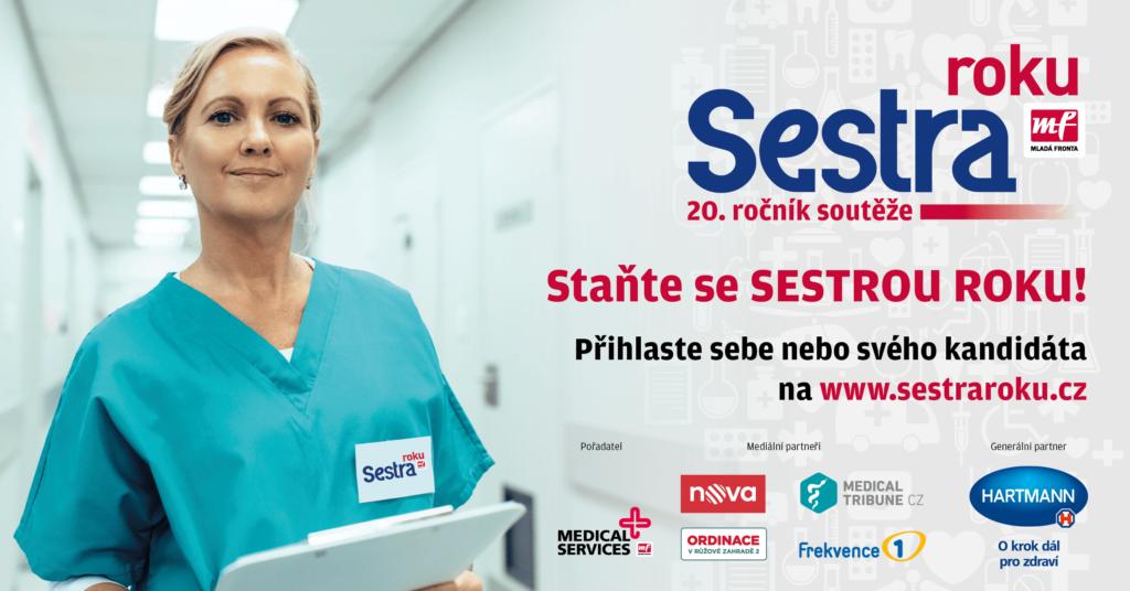 Vydavatelství Mladá fronta pořádá jubilejní 20. ročník soutěže Sestra roku